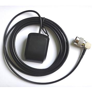 AMSAMOTION TNC Antena GPS Furuno Receptor GP35 GPS GP36 GP37 GP80 GP80D GP90 NX300D: Amazon.es: Coche y moto