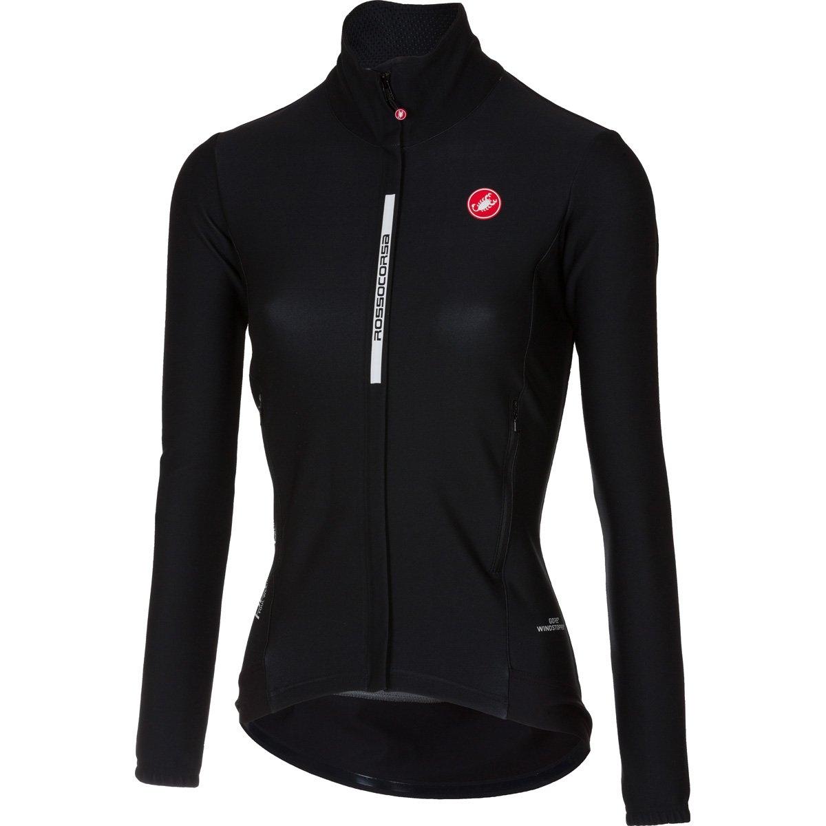 Castelli Perfetto Jersey – Women 's B075ZKW58V Small|ライトブラック ライトブラック Small