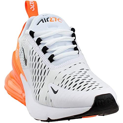 Amazon.com | NIKE Womens Air Max 270 Running Trainers AH6789 Sneakers Shoes (UK 3.5 US 6 EU 36.5, White Black Total Orange 104) | Fashion Sneakers