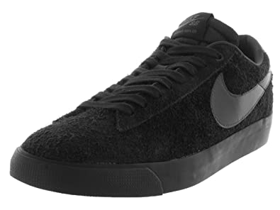best service 64e12 dea81 Nike Mens Blazer Low GT Black/Anthracite Suede