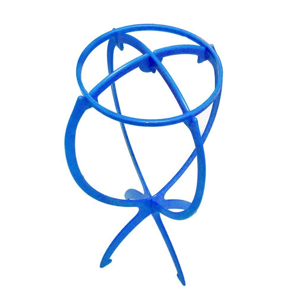 Sunsbell Femmes r¨¦glable perruque support pliable en plastique durable perruque Porte-bouteilles Porte d'affichage