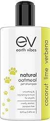 Earth Vibes Natural Oatmeal Dog Shampoo