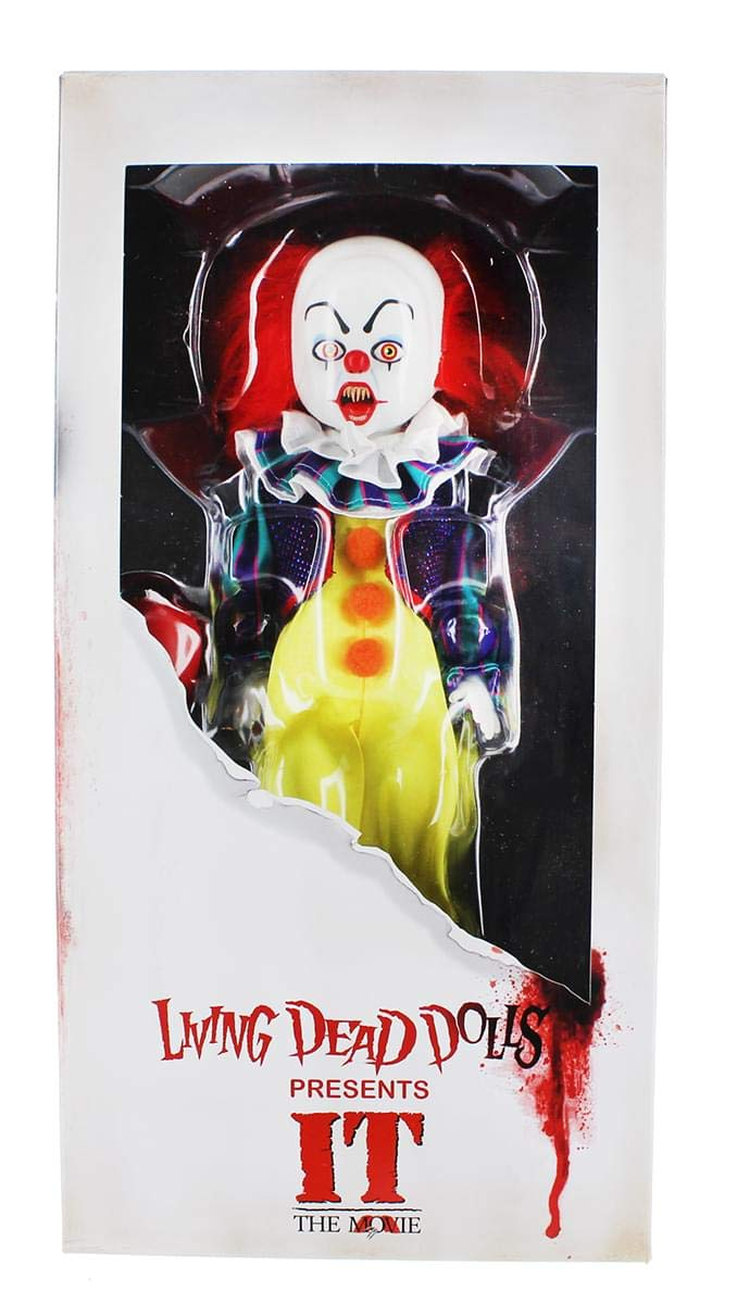 Living Dead Dolls Presents It 1990 Pennywise Doll Mezco Toyz