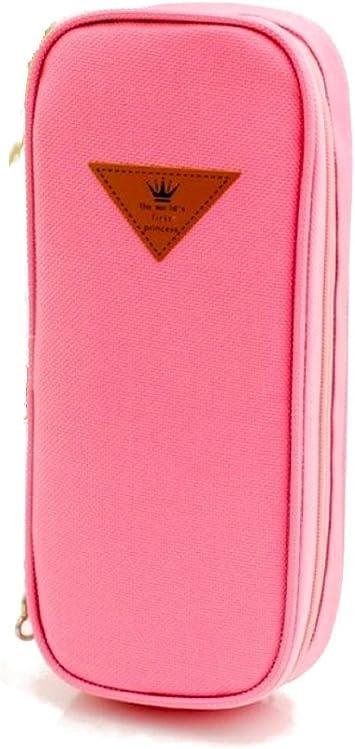 Katara 1800 Estuche de Lápices Escuela / Oficina Papelería - Bolso Escolar Portalápices, Rosa: Amazon.es: Juguetes y juegos
