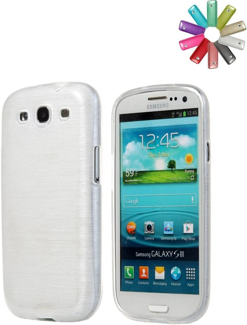 Bralexx - Funda protectora para teléfono Samsung Galaxy S3 mini i8190, color Blanco