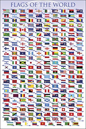 Flags of the World Poster Print (36 x 24)