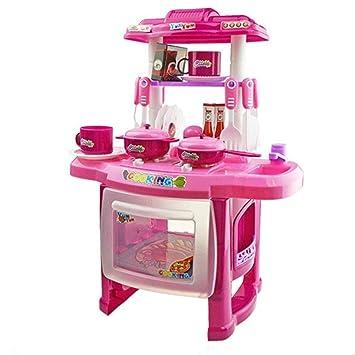 Amazon.com: DDgrin Toy Kitchen Set for Children Pretend to ...