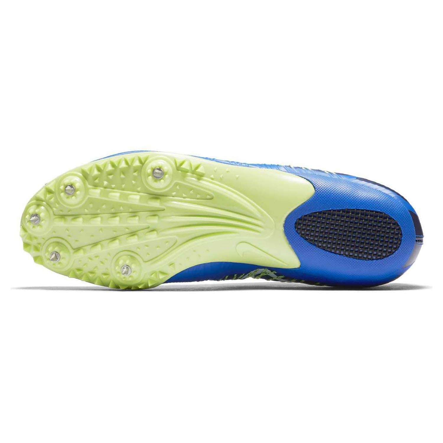 on sale 887d8 b02a7 Amazon.com   Nike Zoom Celar Sprint Track Spikes Shoes Mens Size 11 (Blue,  Volt, White, Black)   Track   Field   Cross Country