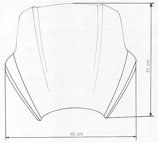 Mra Speed Screen For Naked Bikes Sps Schwarz 125 Classic Mf G 650 X Challenge E65x Cagiva Raptor 65 Auto