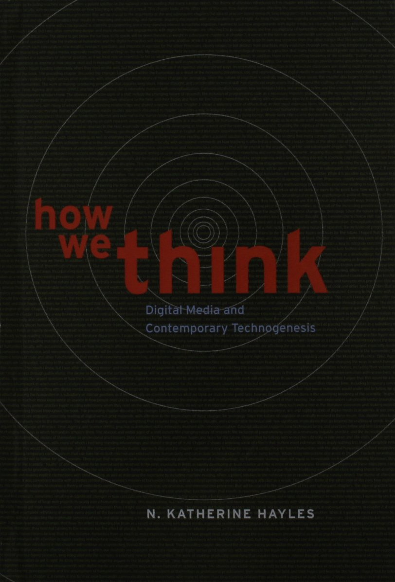 Download How We Think: Digital Media and Contemporary Technogenesis pdf