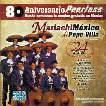 Mariachi Mexico De Pepe Villa - Mariachi Mexico De Pepe Villa (80 Aniversario 24 Exitos) - Amazon.com Music