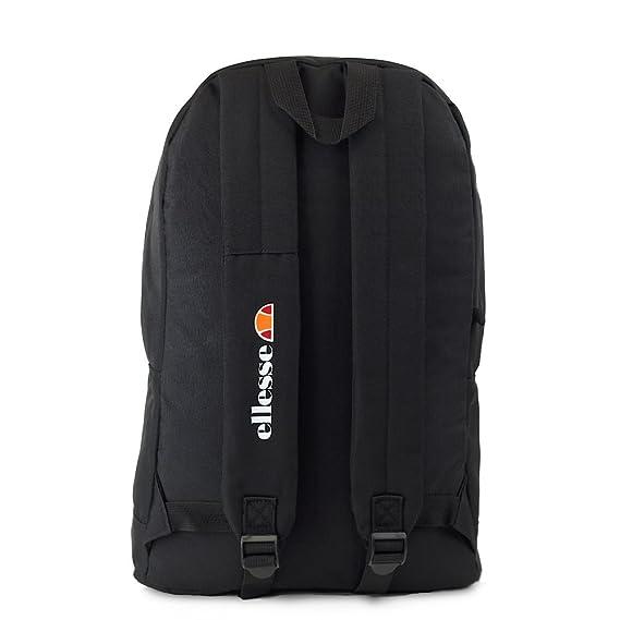ELLESSE Fonza Backpack Black School Bag SHAU0484 - FREE PENCIL CASE  Amazon. co.uk  Luggage 28a9d4dd022b6