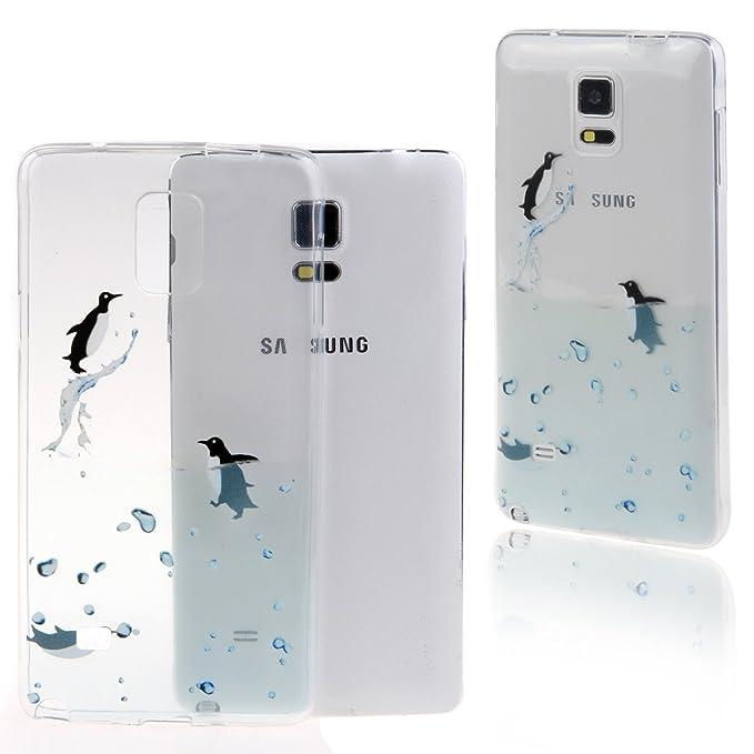 DAMINFE - Carcasa para Samsung Galaxy Note 4 (resistente a ...