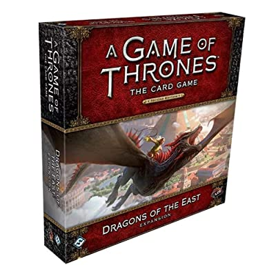 Fantasy Flight Games Game of Thrones LCG 2ND Ed: Dragons of The East Del (FFGGT53): Toys & Games
