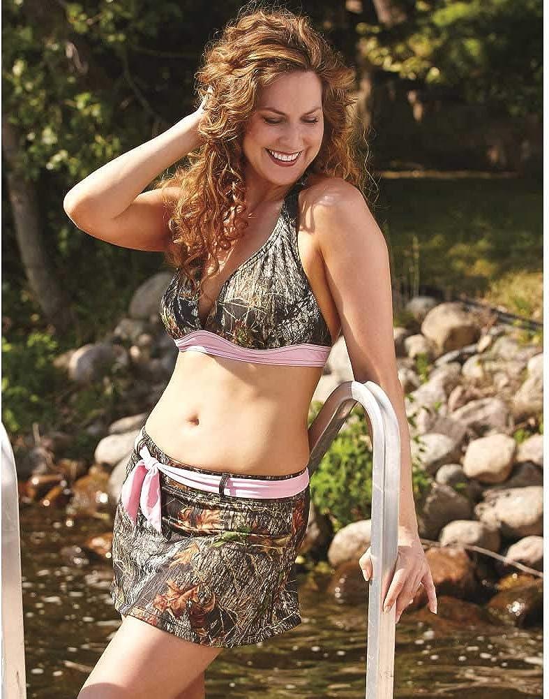 Wilderness Dreams 607421 Womens Pink-Trimmed Halter Top
