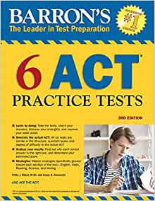 Barrons 6 act practice tests 3rd edition patsy j prince med barrons 6 act practice tests 3rd edition patsy j prince med james d giovannini 9781438010632 amazon books fandeluxe Gallery