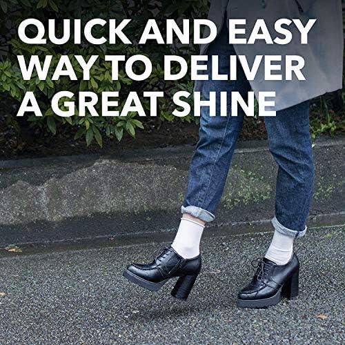 KIWI NEUTRAL Express Shine Instant Sponge Polish 7ml Any Color Leather Shoe