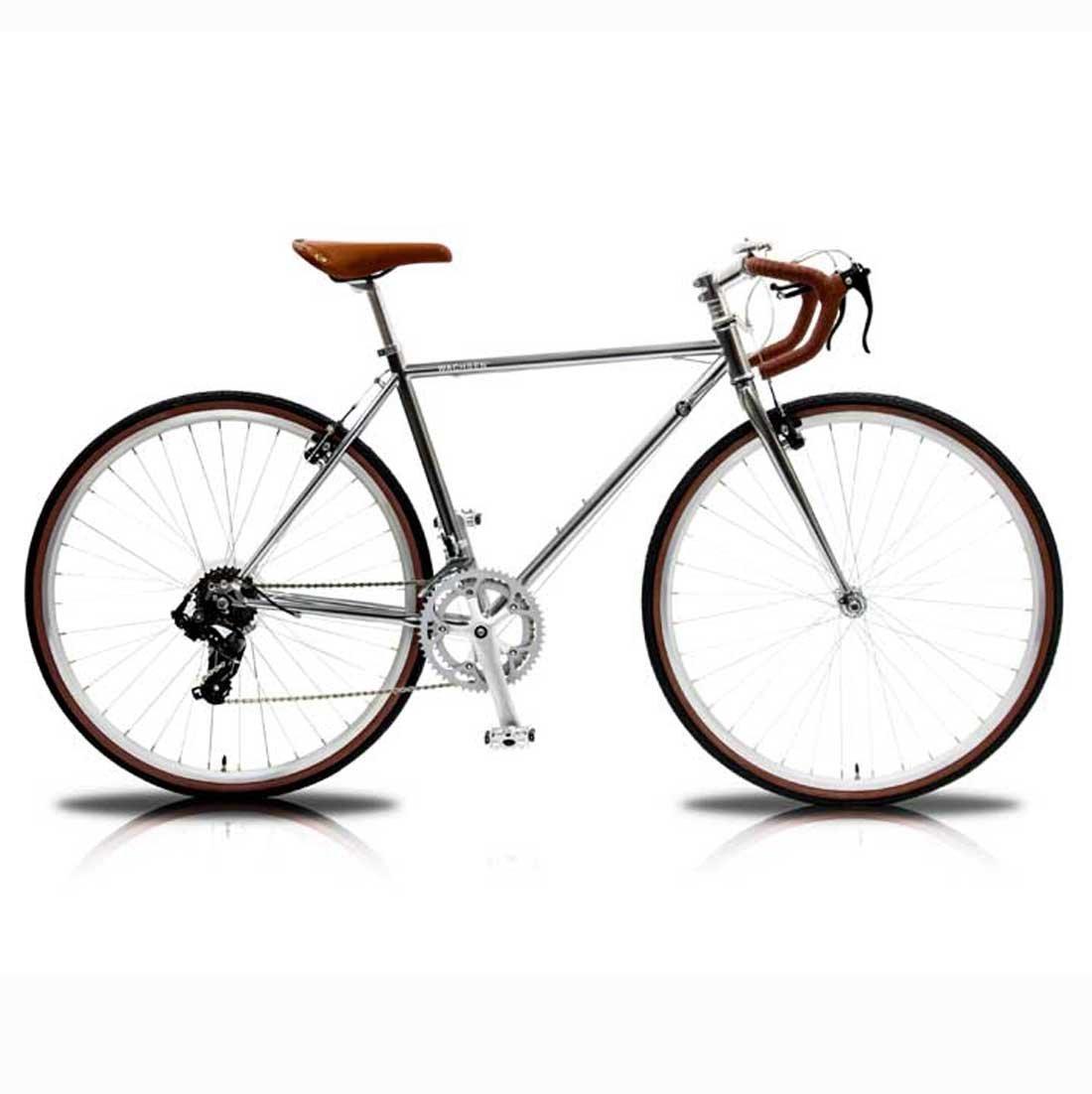 【WACHSEN ロードバイク】WBR-7001SPARK スパーク湘南鵠沼海岸発信 B078JJ5VQPシルバー
