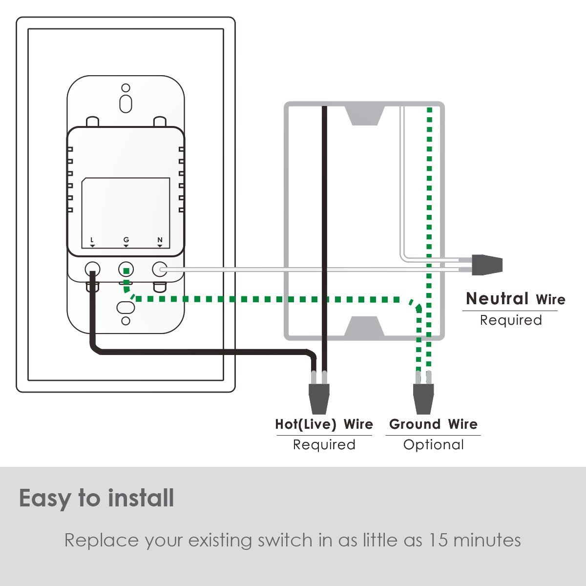 Smart Wall Outlet Kapok Wifi Top Bottom Outlets Are Easy Wiring Kitchen Schematics Independently Controllable Works With Alexa Google Assistant Ifttt No Hub Required