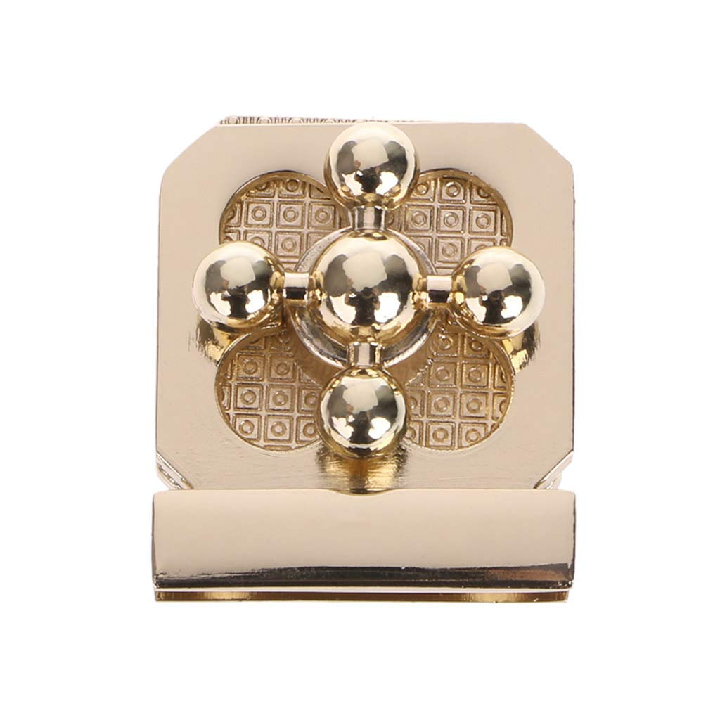 JENOR Metal Clasp Turn Lock Twist Locks For DIY Handbag Craft Bag Purse Hardware Parts