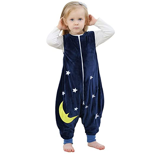 ZEEUAPI - Saco de Dormir de Franela para bebés niños infantíl Ropa ...