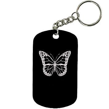 Amazon.com: Personalizado grabado personalizado mariposa 2 ...