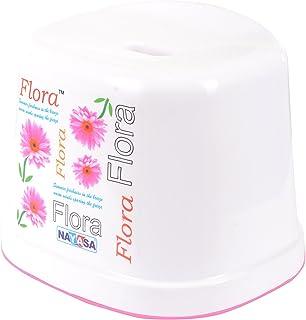 Nayasa Flora Plastic Bath Stool 20 Cms X 27 Cms X 28 Cms White  sc 1 st  Amazon.in & Nayasa Flora Plastic Bath Stool 22 Cms X 28 Cms X 26.5 Cms White ... islam-shia.org