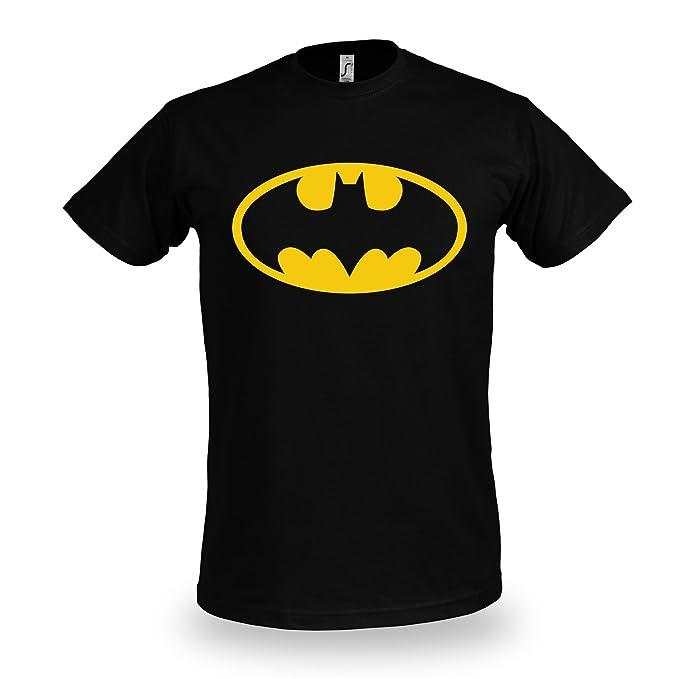 d96d1d587 Batman - camiseta del escudo - con el símbolo del murciélago ...