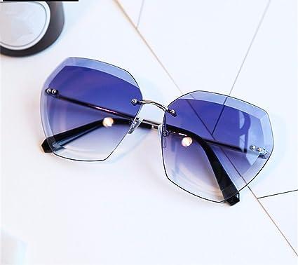 TYJshop Gafas De Sol Hombre Mujer Poligonal Gafas Graduadas ...