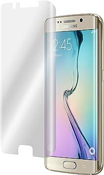 PhoneNatic 2 x Samsung Galaxy S6 Edge Protector de Pantalla Transparente Curved Protectores: Amazon.es: Electrónica