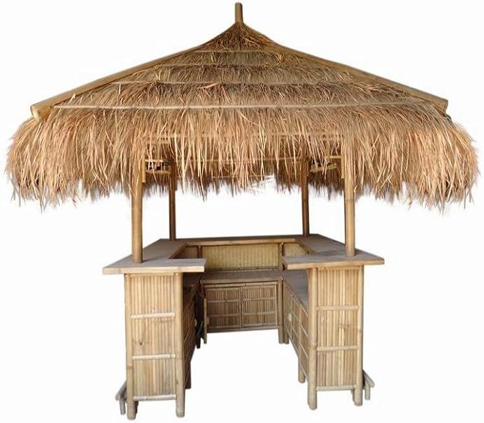 kien Bambú Bar, bambú mostrador, Bar, Jardín Bar, Feria Stand ...