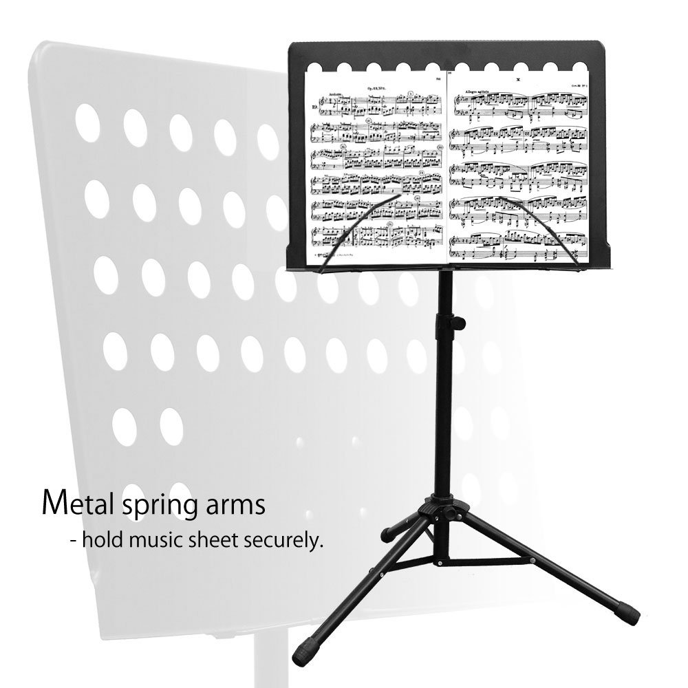 Maestro Extra Durable Metal Music Note Stand Orchestra Heavy Duty Tripod APL1281 by PARTYSAVING (Image #5)