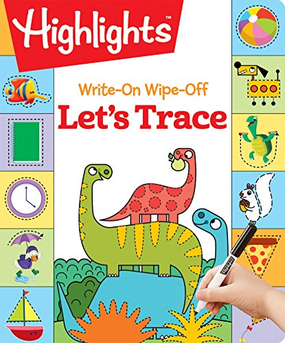 Write-On Wipe-Off Let's Trace (HighlightsTM  Write-On Wipe-Off Fun to Learn Activity Books)
