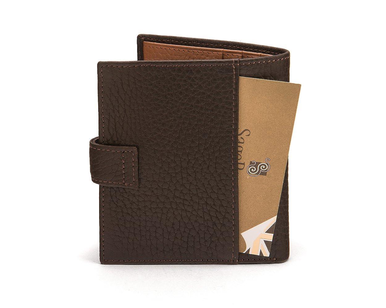 Sagebraun Compact Billfold Billfold Billfold Wallet With Tab B073S8J8VH Geldbrsen 30d5ce