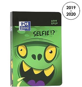 Oxford Teo Tarras agenda escolar (años 2017 – 2018 1 día por página 352 páginas 12 x 18 cm selfie2