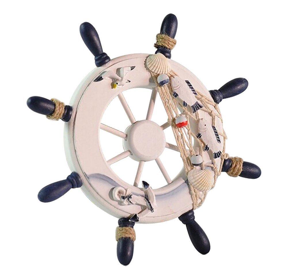 Umiwe (TM) Decoración Hogar rellenos Mar pared decorativo Madera Piratas barco rueda de casco, color aleatorio con Umiwe Accessories4men: Amazon.es: Hogar