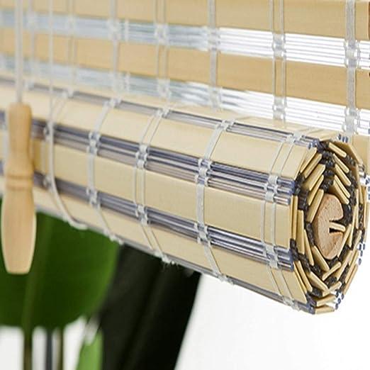 Estores Enrollables Persianas Enrollables del 90%, para Jardín al Aire Libre, Pérgola, Patio Trasero, Gazebo, Protección UV Impermeable, Fácil Instalación (Size : 135×225cm): Amazon.es: Hogar