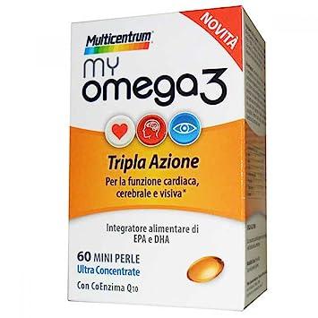 Amazon.com: Multicentrum MyOmega3 Food Supplement 60 Pearls ...