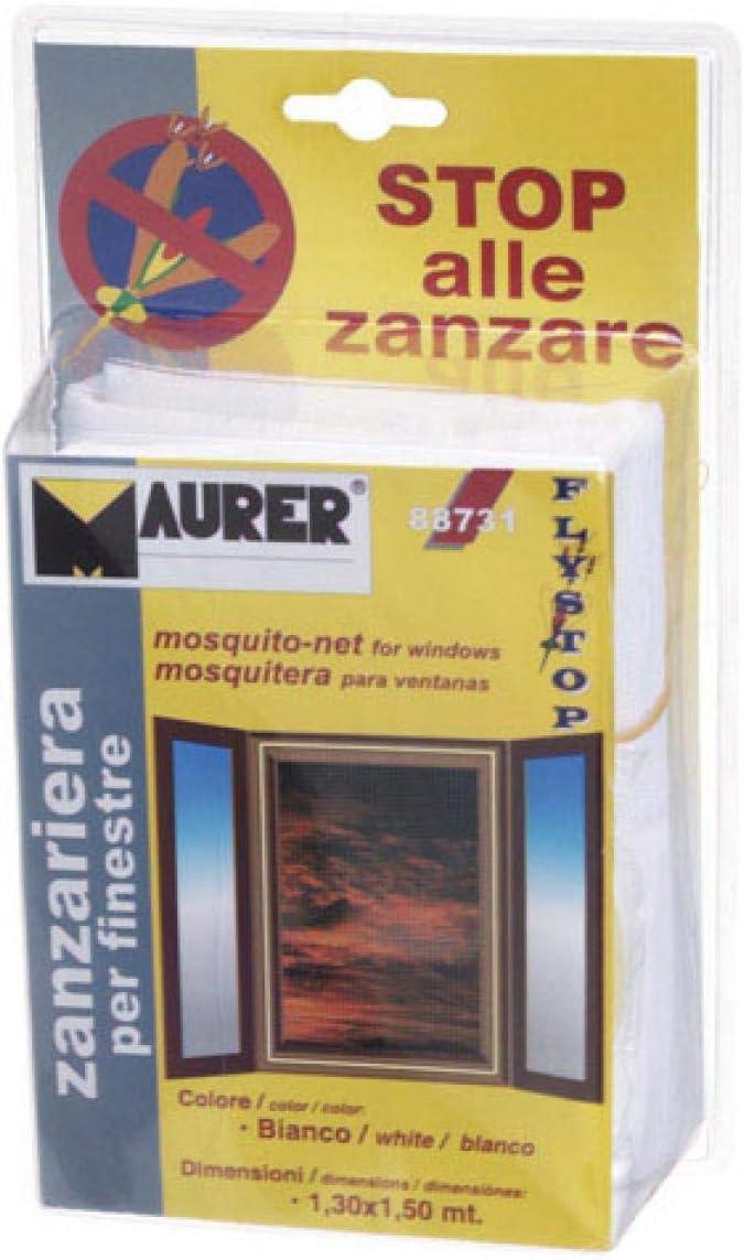 Zanzariera con Velcro per Porte Maurer 75x250 cm colore Antracite