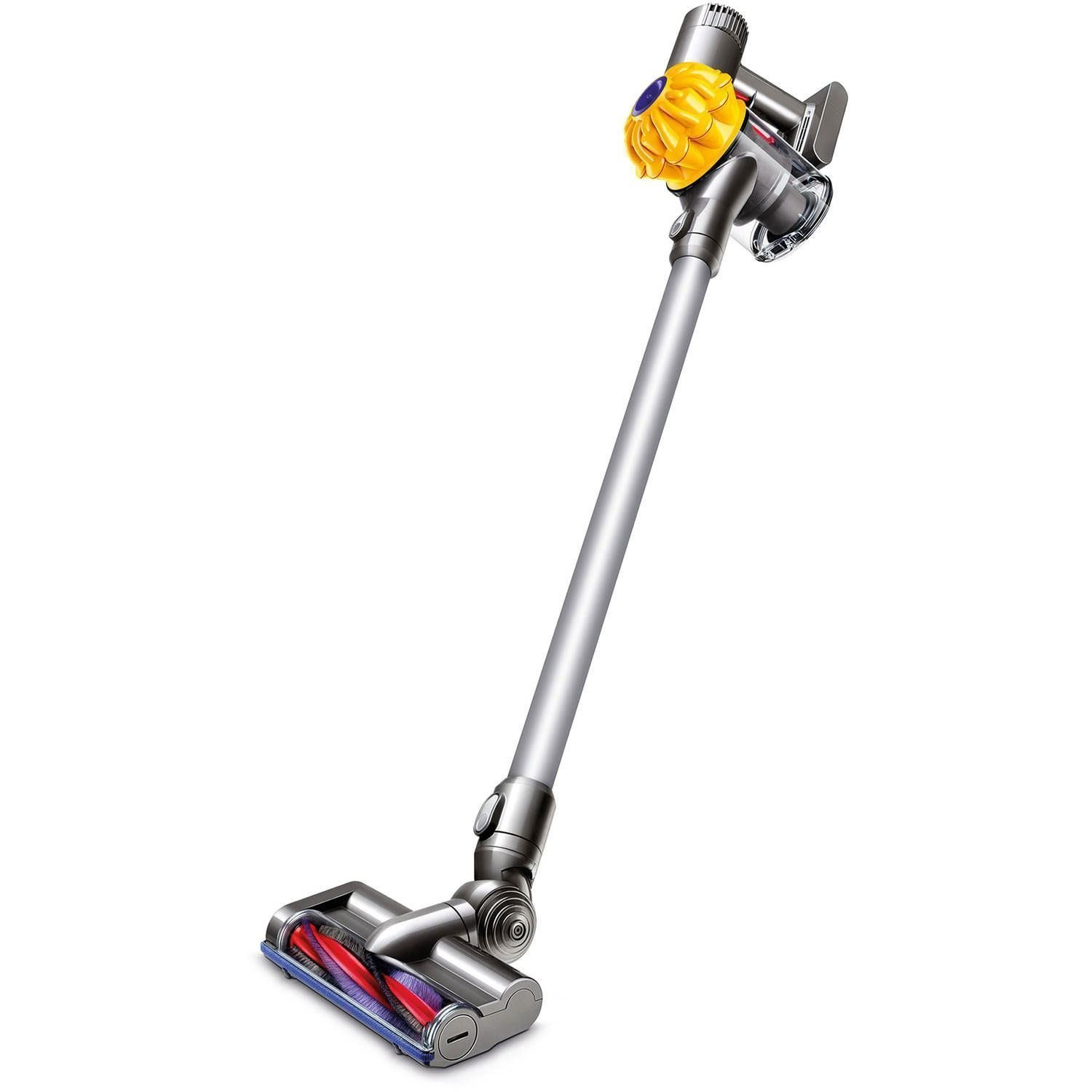 shoptagr dyson v6 slim vacuum cleaner yellow certified refurbished by dyson. Black Bedroom Furniture Sets. Home Design Ideas