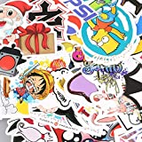 GreenEmart Mixed Random Stickers - 100 pcs Cool Graphic Racing Decals Bumper Stickers for Car Bike Skateboard Helmet Motorcycle Luggage Phone