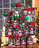 42-Pc. Chalkboard Snowmen Gift Bag Sets