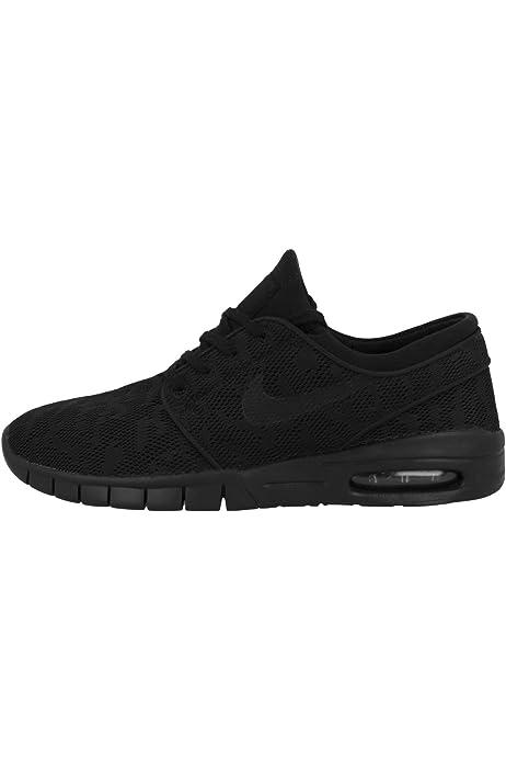 Amazon.com | Nike Mens Stefan Janoski Max PRM Black/Black-Photo ...