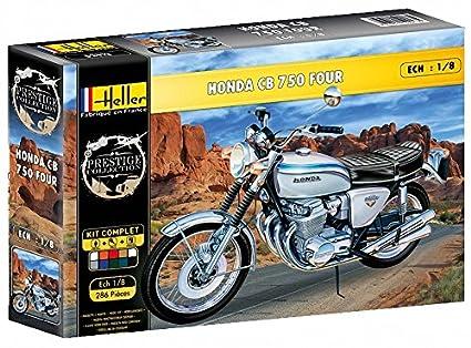 Amazon.com: Heller 52913G Honda CB 750 Four Motorbike Gift ...