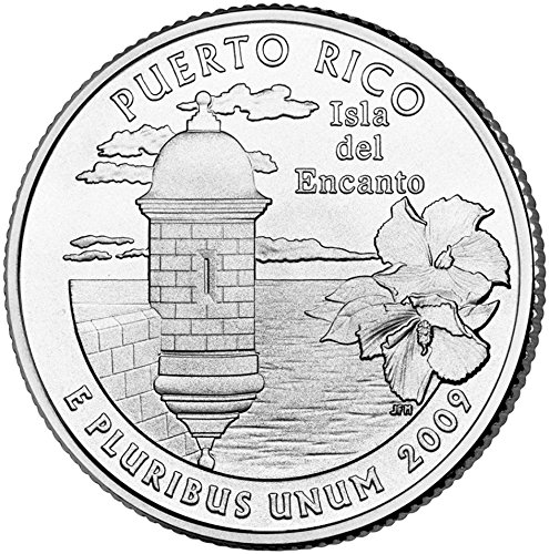 2009 D Puerto Rico State Quarter Choice Uncirculated