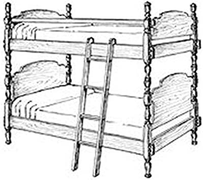 instructions included Twin Bunk Bed Woodworking Plans drawings Material list