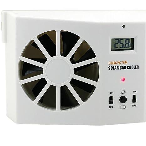 Livoty Solar Powered Mini Air Conditioner