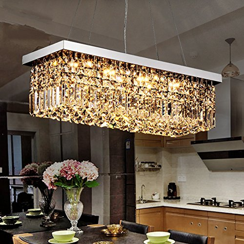 Rectangle Pendant Light Fixtures in US - 6