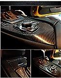 Automotive : TCBunny 5D Carbon Fiber Vinyl Wrap Sticker Air Realease Bubble Free Waterproof anti-wrinkle, 120 inch x 60 inch 10FT x 5FT