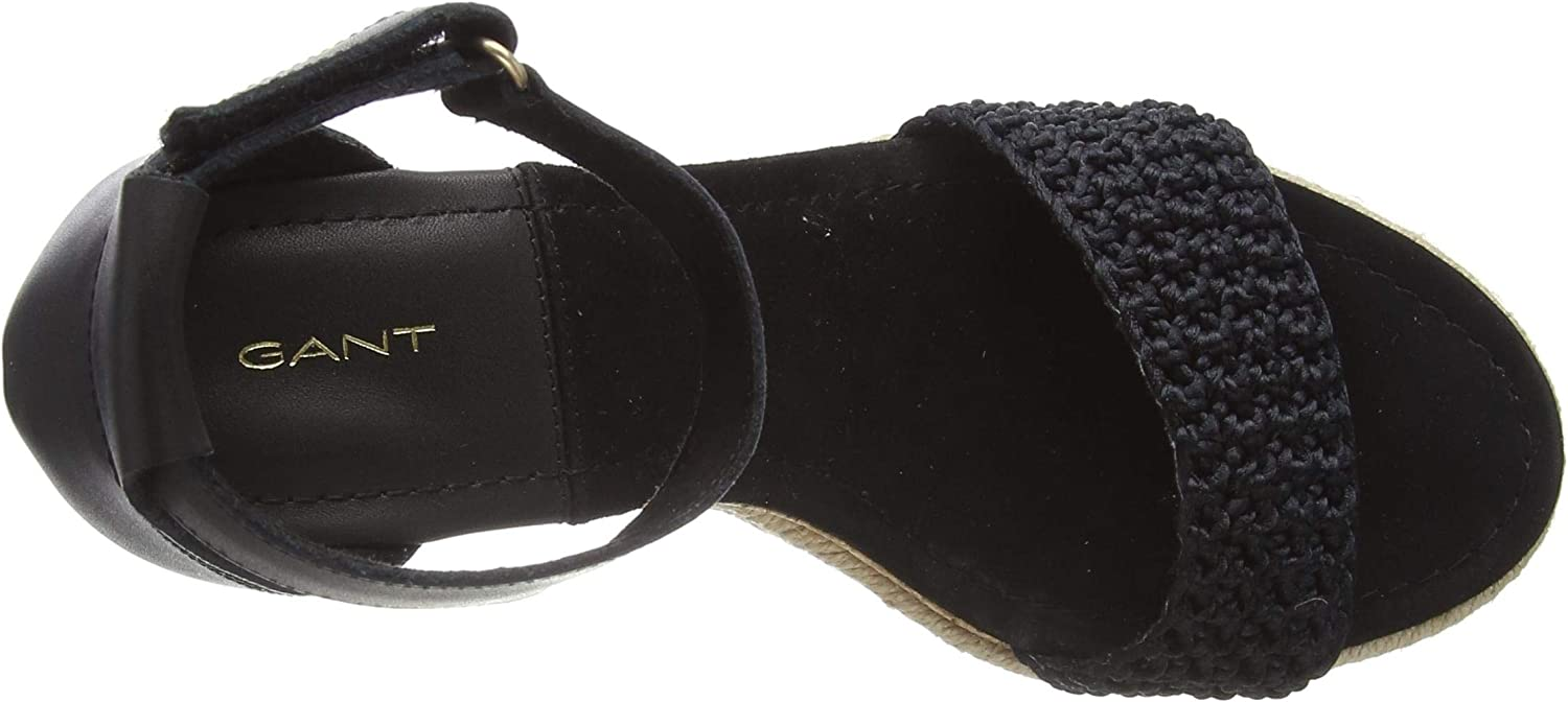 GANT PELICANBAY dames sandalen met riempjes Zwart Black G00